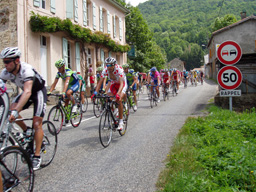 Le Tour in the village
