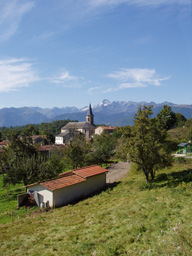 Mont Valier from village